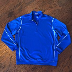 Nike Golf Therma-Fit Pullover Sweater Blue XL